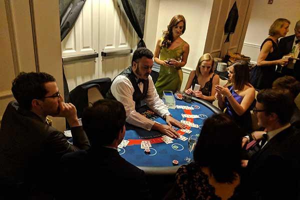 Casino Blackjack Table 2