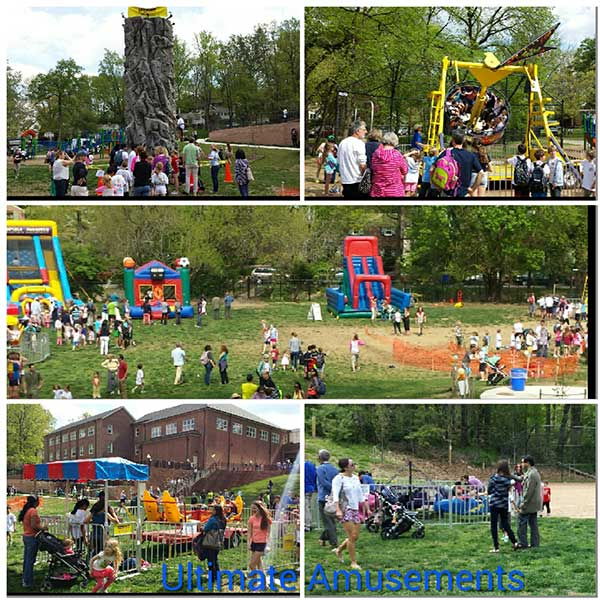 School Carnival Collage