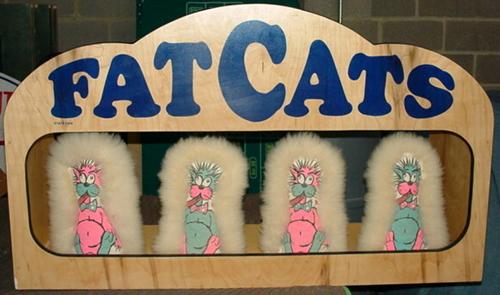 Fat Cats - Bean Bag Throw