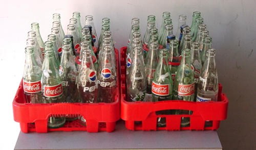 Coke Bottle Toss (Ring Toss)