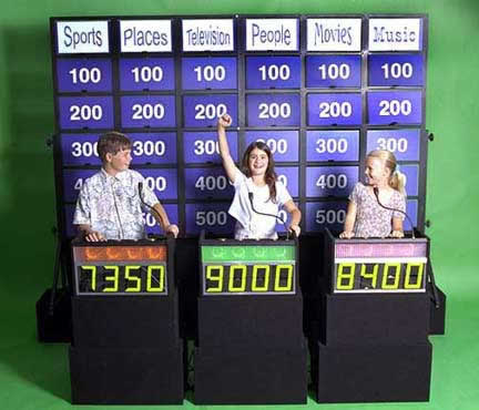 Jeopardy - Game Show (Kids Challenge)