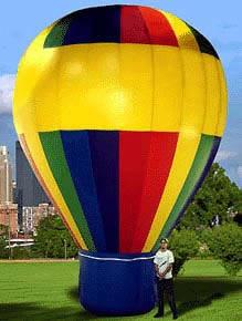 Cold Air Advertising Balloon