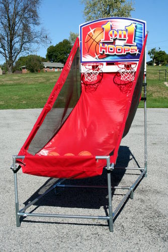 Double Shoot Out Basketball - Metal Frame
