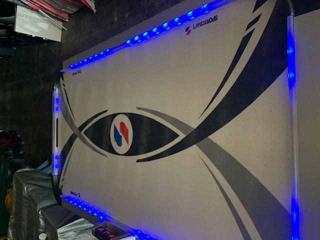 LED Air Hockey Table - 2 Player