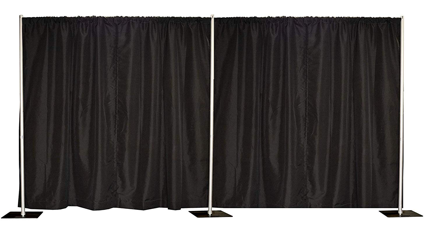 Pipe and Draping - Black