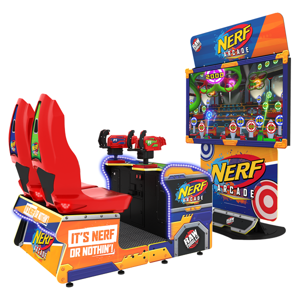 Nerf Arcade and Video Game
