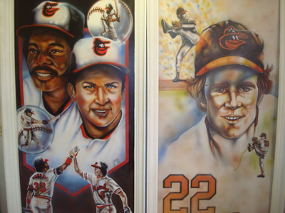Orioles Double Pictures/Paintings