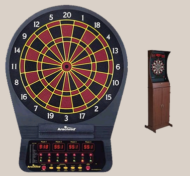 Electronic Darts Cabinet