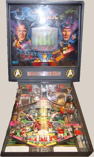 Pinball - Star Trek - Nemoy and Shatner