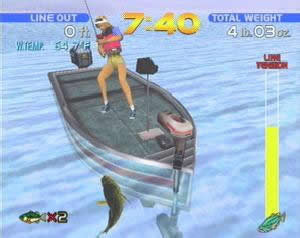 Virtual Bass Fishing