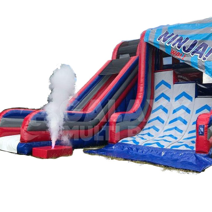 Ninja Wall - Inflatable Warped Wall