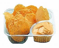 Nacho Cheese Warmer and Chips