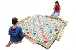 Giant Scrabble Game